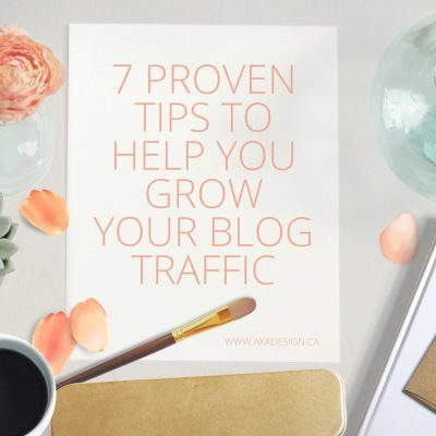 How to Grow Your Blog Traffic – 7 Proven Tips that Increased my Traffic by 350% in a Year!