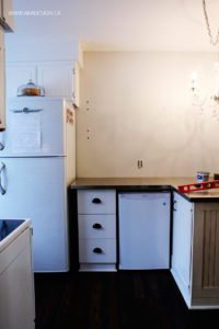 Kitchen Before Subway Tiles