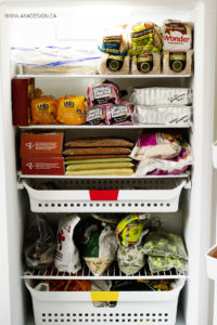 Stocking the Freezer | www.akadesign.ca
