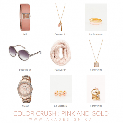 Color Crush | Pink and Gold
