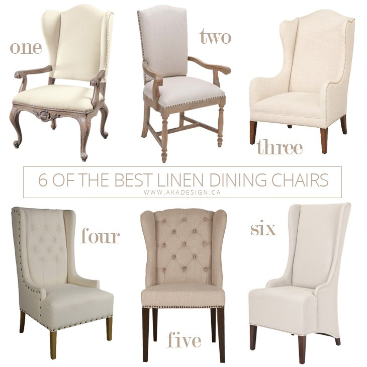 13 Best Dinning Room Chairs Images On Pinterest: 6 Of The Best Linen Dining Chairs