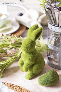 Spring Moss Bunny   www.akadesign.ca