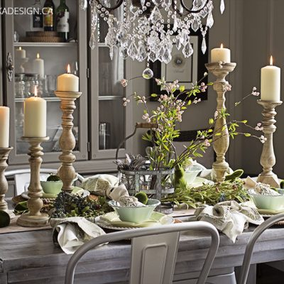 Natural Easter Table Setting – Get the Look for Your Home!
