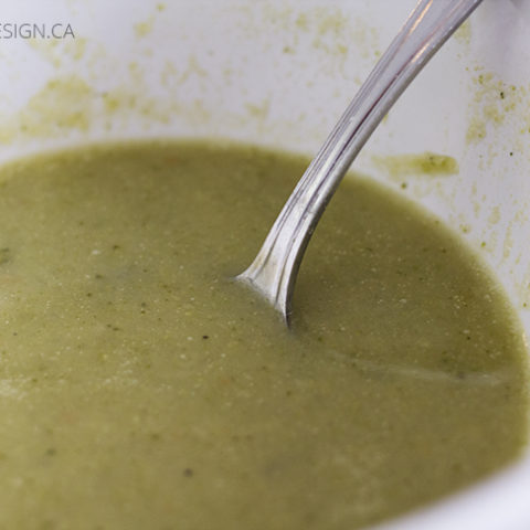 Dairy Free Cream of Broccoli Soup