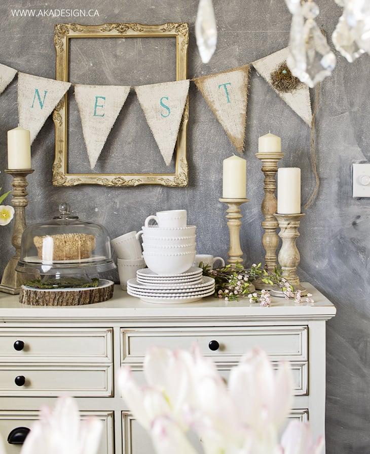 dining room hutch spring