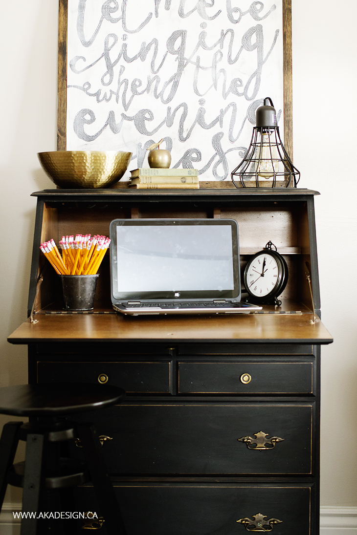 ways to create a stylish home office in the living room