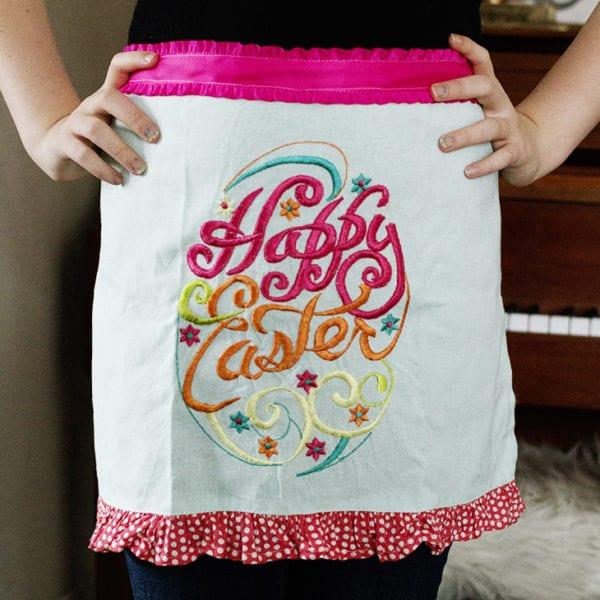 Make an apron from a tea towel | www.akadesign.ca