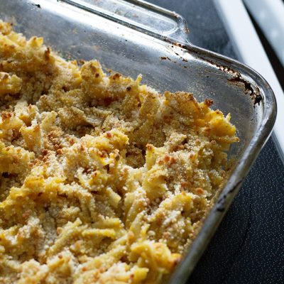 Butternut Squash Mac and Cheese (Dairy and Gluten Free)