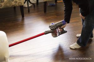 Dyson Absolute getting under furniture hardwood