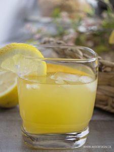 virgin peach lemonade