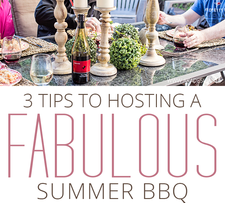tips to hosting a fabulous summer bbq small square