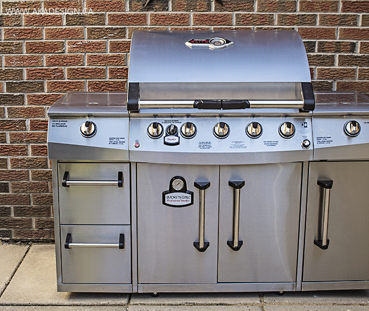 Brinkmann 5 Burner Gas Grill with Smoker and Sear Burner