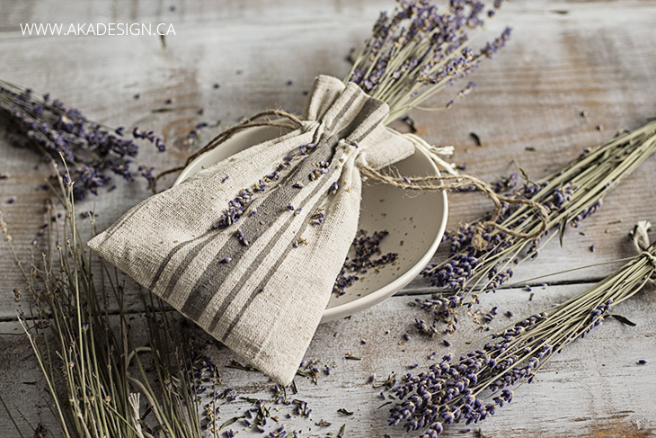dried lavender sachets