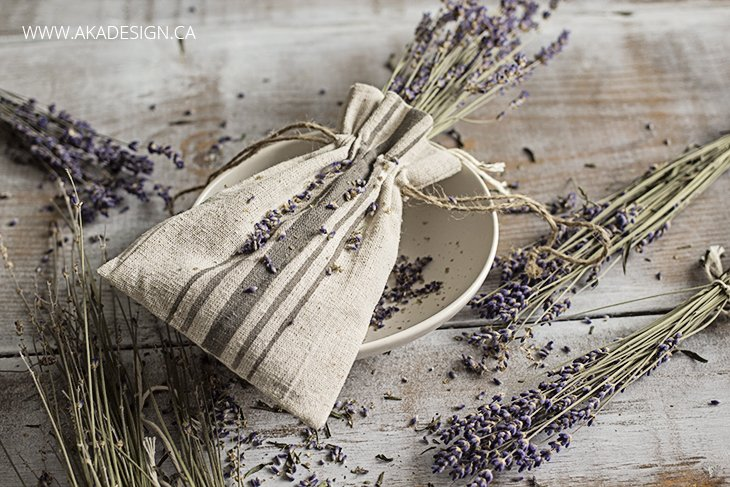 dried lavender sachets