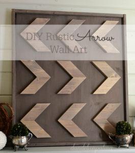 DIY-rustic-arrow-wall-art-