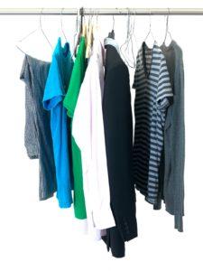 Unorganized closet