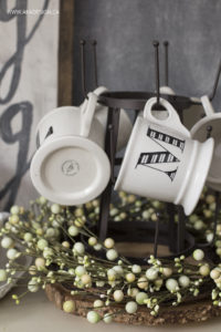 anthropologie monogram mugs aka design