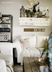 coastal summer living room