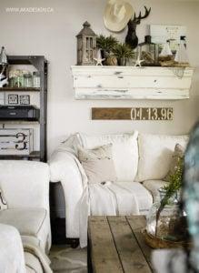 coastal summer living room