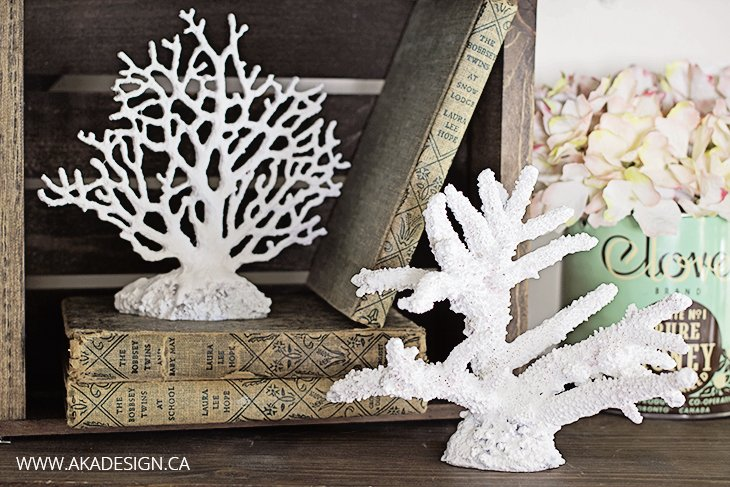 Diy Faux Coral Pottery Barn Knockoff