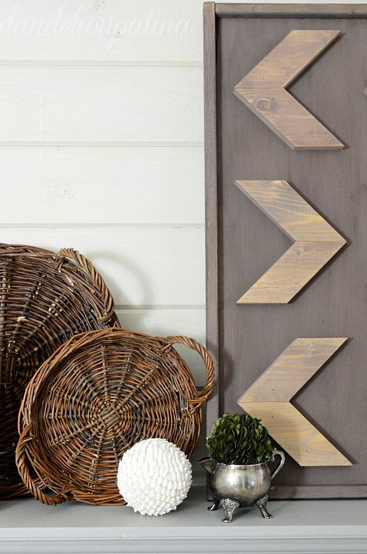 so what do you think of the diy rustic arrow wall art are you ready