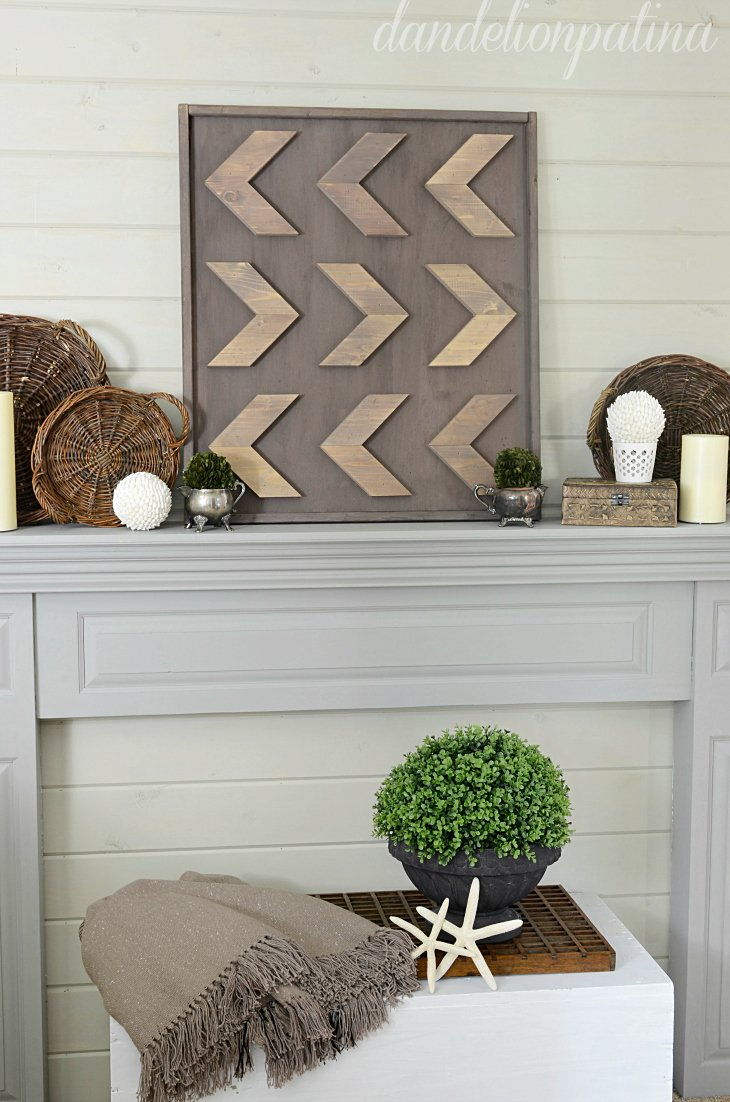 Homemade Rustic Wall Decor : Creative collection group link party