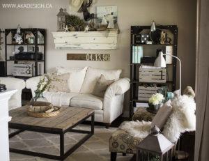 AKA Design summer living room