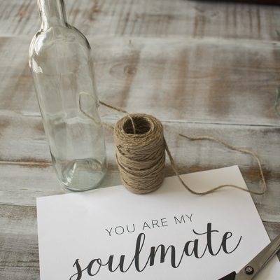 You Are My Soulmate – Free Printable Art | Message in a Bottle