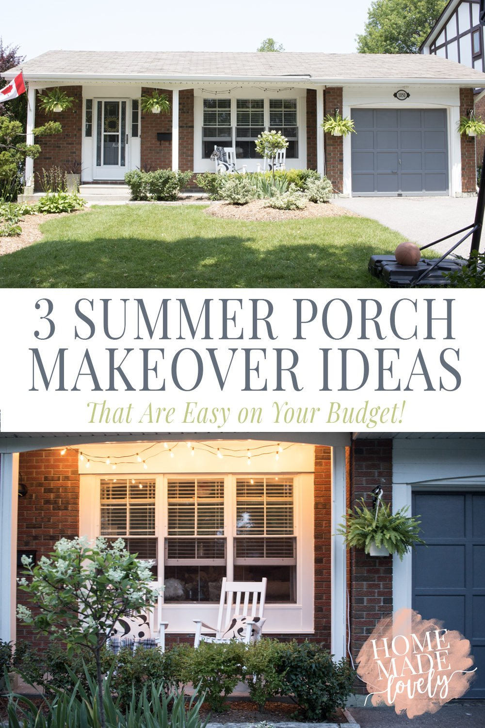 3 summer porch makeover ideas that are easy on your budget!