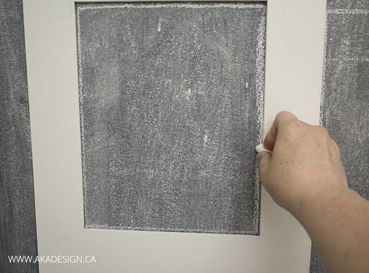 drawing inside the lines chalk