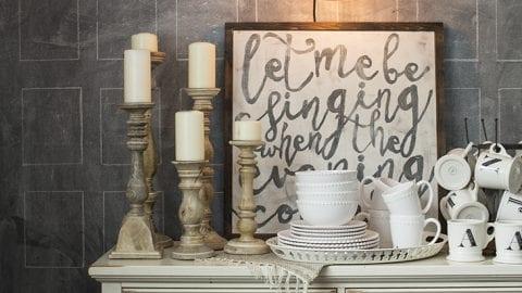 Easy Chalkboard Wall Design – Rectangles