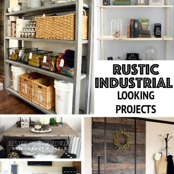 rustic industrail projects