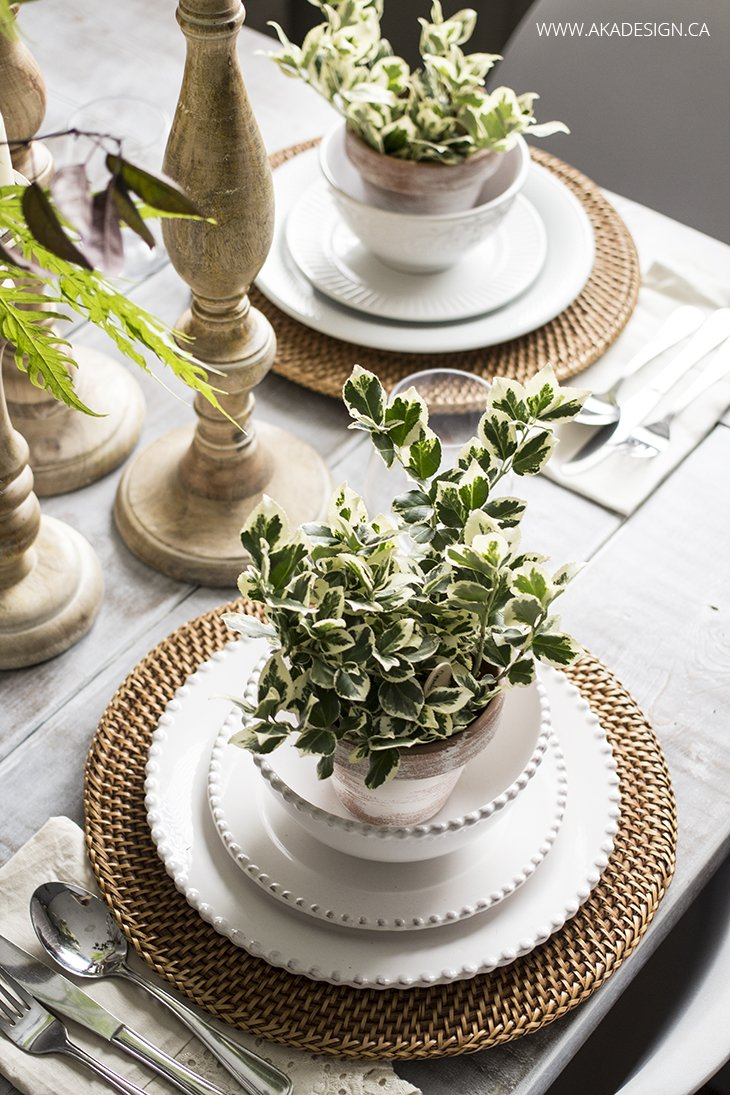 wedding table setting ideas