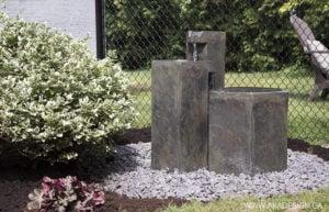Aquascapes Formal Basalt Columns Fountain