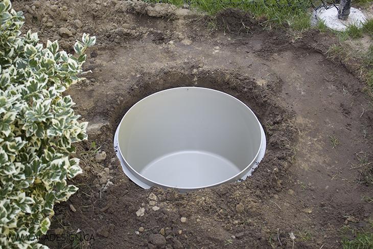 Fountain Basin in Hole
