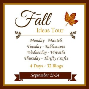 Fall Ideas Tour html for post permalinks Monday Postcards from the Ridge | All Things Heart and Home Confessions of a Serial Do-it-Yourselfer | Domestically Speaking Prodigal Pieces | Housepitality Designs Mad In Crafts | My Creative Days Tuesday Refresh Restyle | 2 Bees in a Pod Fox Hollow Cottage | Artsy Chicks Rule Our Southern Home | Restoration Redoux Savvy Southern Style | Atta Girl Says Wednesday H2OBungalow | Cottage at the Crossroads Today's Creative Life | Dukes and Duchesses Hunt & Host | The Interior Frugalista Sweet Pea | Petticoat Junktion Thursday Thrift Diving | At the Picket Fence Town and Country Living | Cupcakes and Crinoline My Uncommon Slice of Suburbia | So Much Better With Age Art is Beauty | AKA Design
