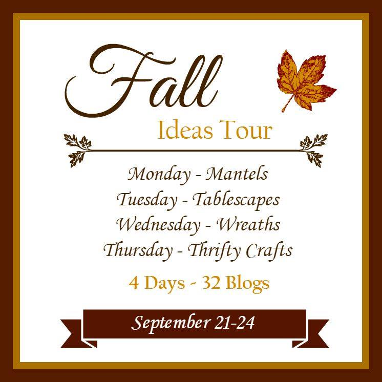 "Fall Ideas Tour html for post permalinks <p style=""text-align: center;""><strong>Monday</strong></p> <p style=""text-align: center;""><a href=""http://www.postcardsfromtheridge.com/2015/09/how-to-decorate-fall-mantel-with.html"" target=""_blank"">Postcards from the Ridge</a> 