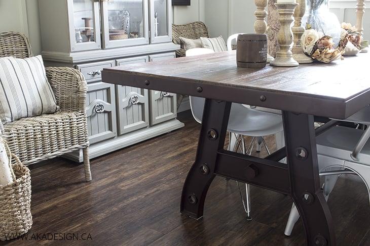 AKA Design A Frame Dining Room Table