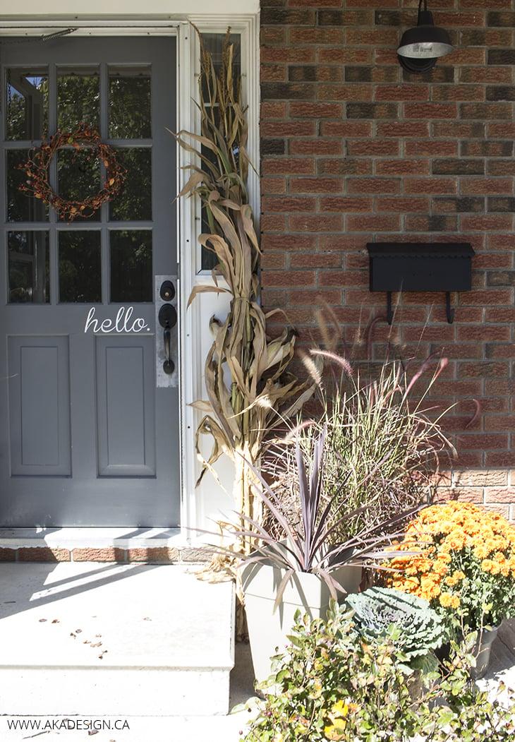 AKA Design Fall Front Porch