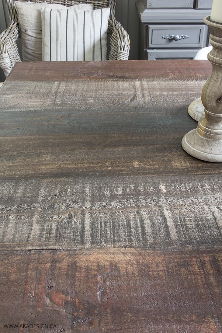 AKA Design Leon's wood table top