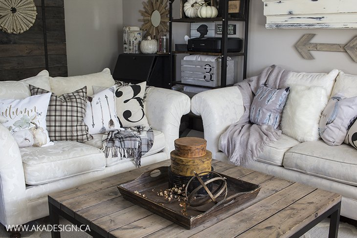 AKA Design Living Room with Craftberry Bush Pillows