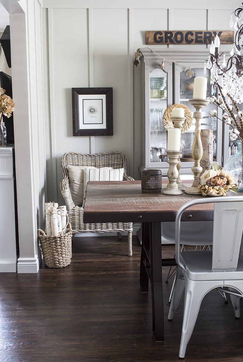 AKA Design Rustic Fall Dining Room 2