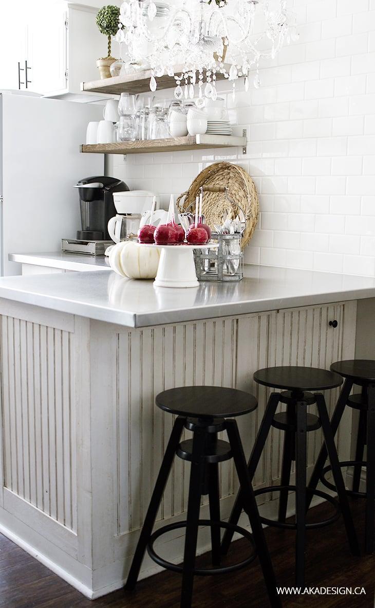 AKA Design fall breakfast bar