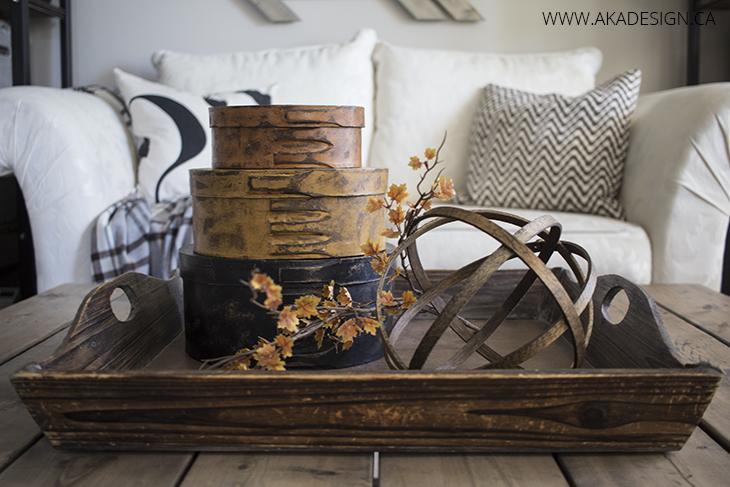 AKA Design fall coffee table
