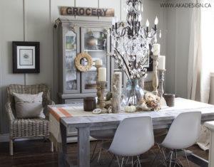 AKA Design fall dining room