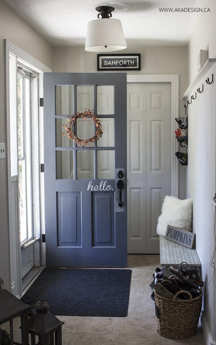 AKA Design fall entryway