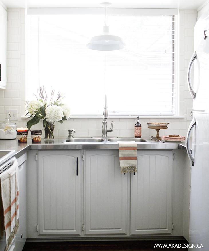 AKA Design fall kitchen sink