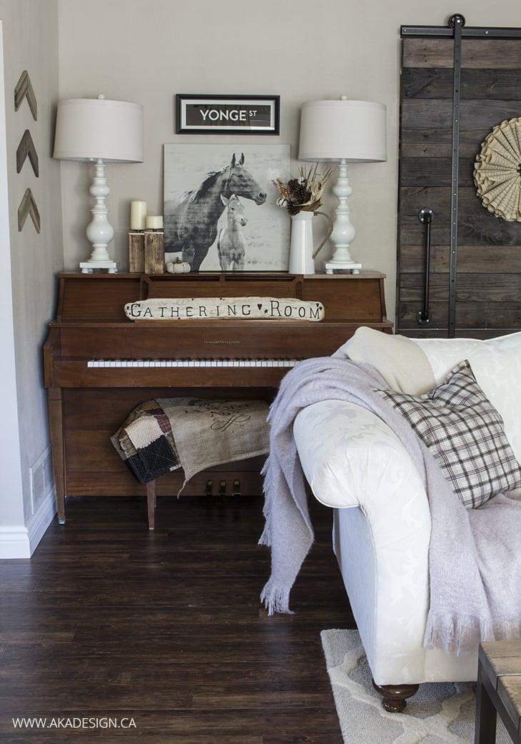 AKA Design living room piano