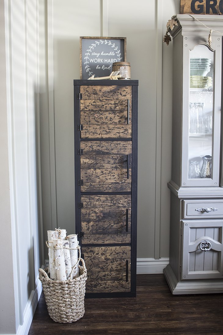 Ikea Hack Diy Rustic Cube Shelves