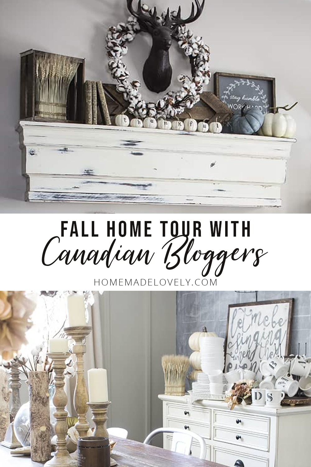 Fall Home Tour with all Canadian Bloggers!
